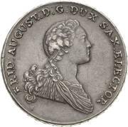 2 Thaler - Friedrich August III – avers