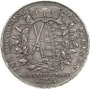 2 Thaler - Friedrich August III – revers