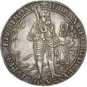 2 Thaler - Johann Georg I. (Peace) – avers
