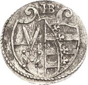 1 Pfennig - August – avers