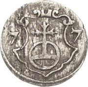 1 Pfennig - August – revers