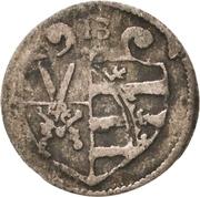 1 Pfennig - Christian I. – avers