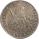 1 Thaler - Christian I. (Décès) – avers