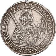 2 Thaler - Christian I. (Décès) – avers