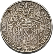 2 Thaler - Christian II., Johann Georg et August – revers