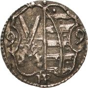 1 Heller - Christian II., Johann Georg I. and August – avers