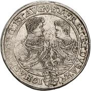 2 Thaler - Christian II., Johann Georg and August – revers