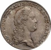 1/12 Thaler - Friedrich August III – avers