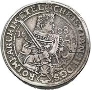 4 Thaler - Christian II., Johann Georg and August – avers