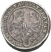 4 Thaler - Christian II., Johann Georg and August – revers
