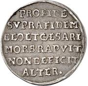 ¼ Thaler - Christian II., Johann Georg and August – revers