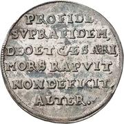½ Thaler - Christian II., Johann Georg I. and August (Décès) – revers