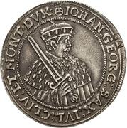 ¼ Thaler - Johann Georg I. and August (Vicariat) – avers