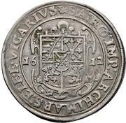 ½ Thaler - Johann Georg I. and August (Vicariat) – revers