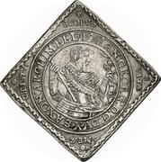 2 Thaler - Johann Georg I. (Klippe; Baptism) – avers