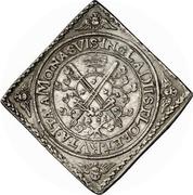 2 Thaler - Johann Georg I. (Klippe; Baptism) – revers