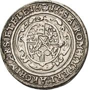 ¼ Thaler - Johann Georg I. and August – revers