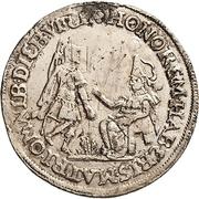 ¼ Thaler - Johann Georg I. (Reformation) – avers