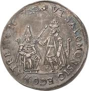 ½ Thaler - Johann Georg I. (Reformation) – avers