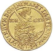 2 Ducat - Johann Georg I. (Reformation) – avers