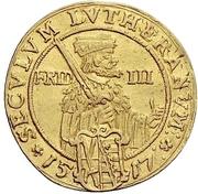 2 Ducat - Johann Georg I. (Reformation) – revers