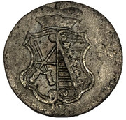 3 pfennig Friedrich August III – avers