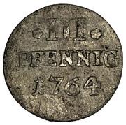 3 pfennig Friedrich August III – revers