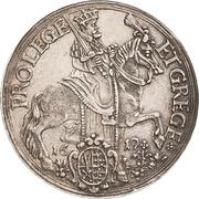 ¼ Thaler - Johann Georg I. (Vicariat) – avers