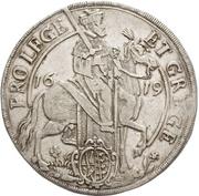 ½ Thaler - Johann Georg I. (Vicariat) – avers