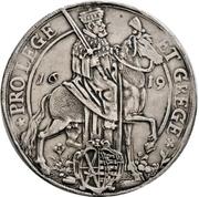 2 Thaler - Johann Georg I. (Vicariat) – avers