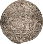 24 Kreuzer - Johann Georg I. – avers