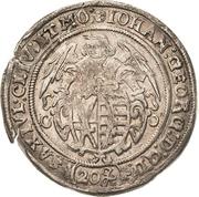 20 Kreuzer - Johann Georg I. – avers