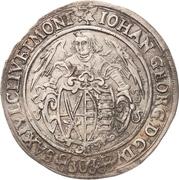 30 Groschen - Johann Georg I. – avers