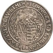 60 Groschen - Johann Georg I. – avers