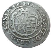 ¼ thaler Christian II, Johann Georg I et August – revers