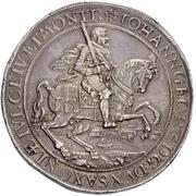 4 Thaler - Johann Georg I. – avers