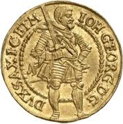 2 Ducat - Johann Georg I. – avers