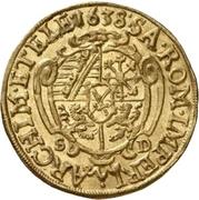 2 Ducat - Johann Georg I. – revers