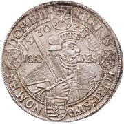 ½ Thaler - Johann Georg I. (Augsburg confession) – revers