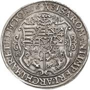 ½ Thaler - Johann Georg I. – revers
