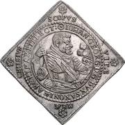 1 Thaler - Johann Georg I. (Klippe; Wedding) – avers