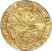 4 Ducat - Johann Georg I. (Augsburg confession) – avers