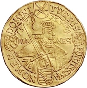 4 Ducat - Johann Georg I. (Augsburg confession) – revers