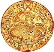 8 Ducat - Johann Georg I. (Augsburg confession) – revers