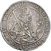 2 Thaler - Johann Georg I. – avers