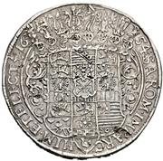 2 Thaler - Johann Georg I. – revers
