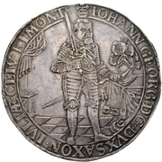 4 Thaler - Johann georg I. (Peace) – avers