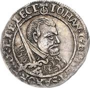 1 Groschen - Johann Georg I. (Décès) – avers