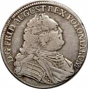⅓ Thaler - Friedrich August II – avers