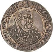 ¼ Thaler - Johann Georg I. (Décès) – avers